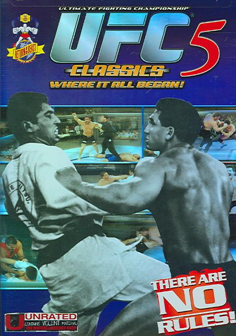 UFC CLASSICS 5 BY GRACIE,ROYCE (DVD)